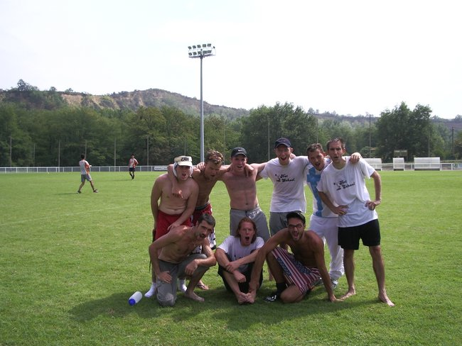 Hot ultimate frisbee club cellois